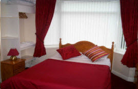 Liverpool bed and breakfast double room